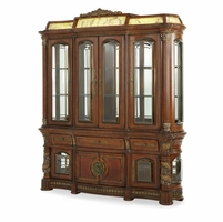 Michael Amini Illuminated Villa Valencia China Cabinet by AICO