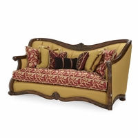 Michael Amini Oppulente Upholstered Solid Wood Frame Sofa by AICO