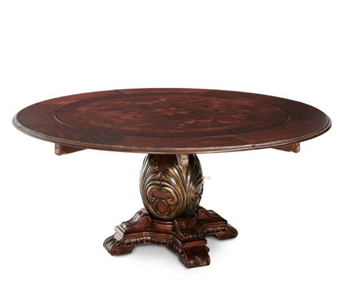 Large Round Dining Table Traditional Round Dining Table