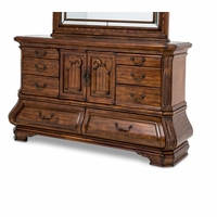 Michael Amini Tuscano Melange Beveled Edge Eight Drawers Dresser by AICO