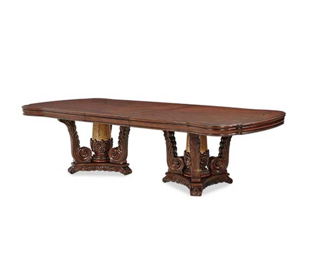 michael amini victoria palace dining room rectangular table by aico