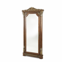 Michael Amini Villa Valencia Wall Accent Mirror with Hidden Storage by AICO