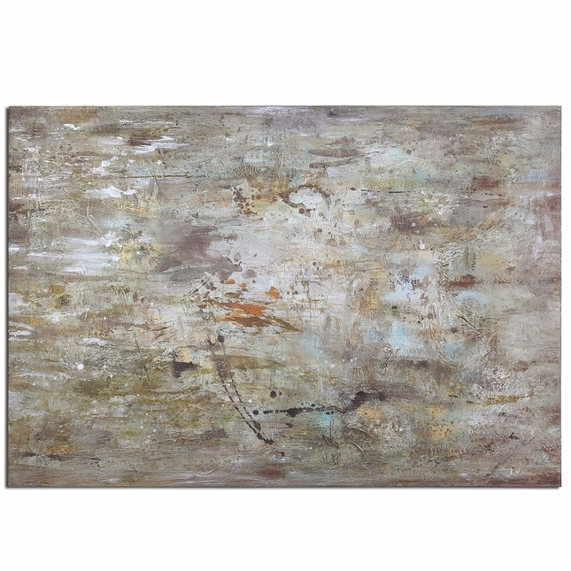 Middle Abstract Hand Painted Canvas Art 34267