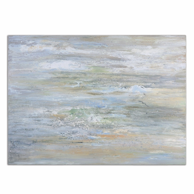 Misty Morning Abstract Hand Painted Canvas Art 34394