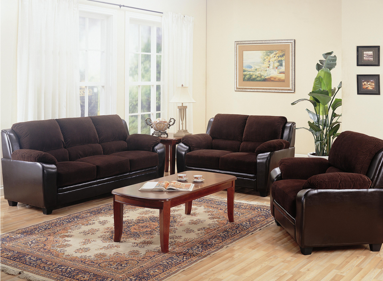 Chocolate Brown Living Room Sets 1320 x 967