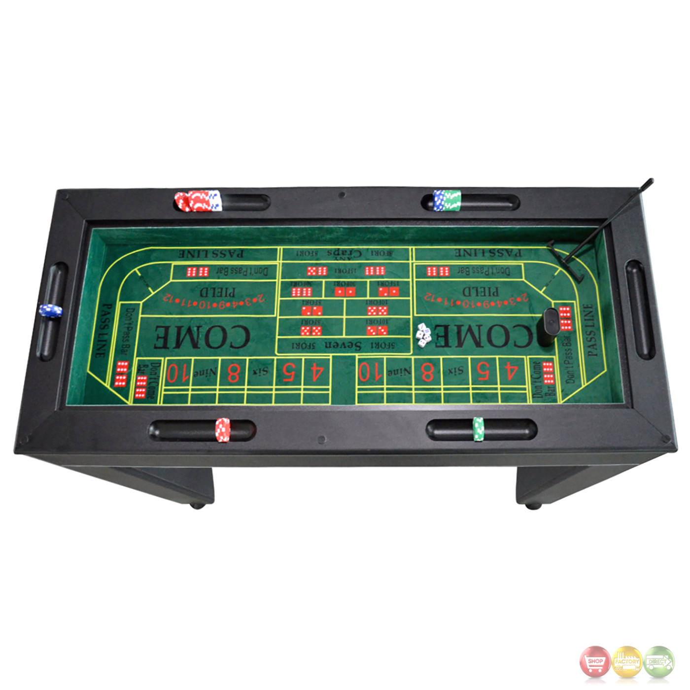 monte carlo 4-in-1 casino game table