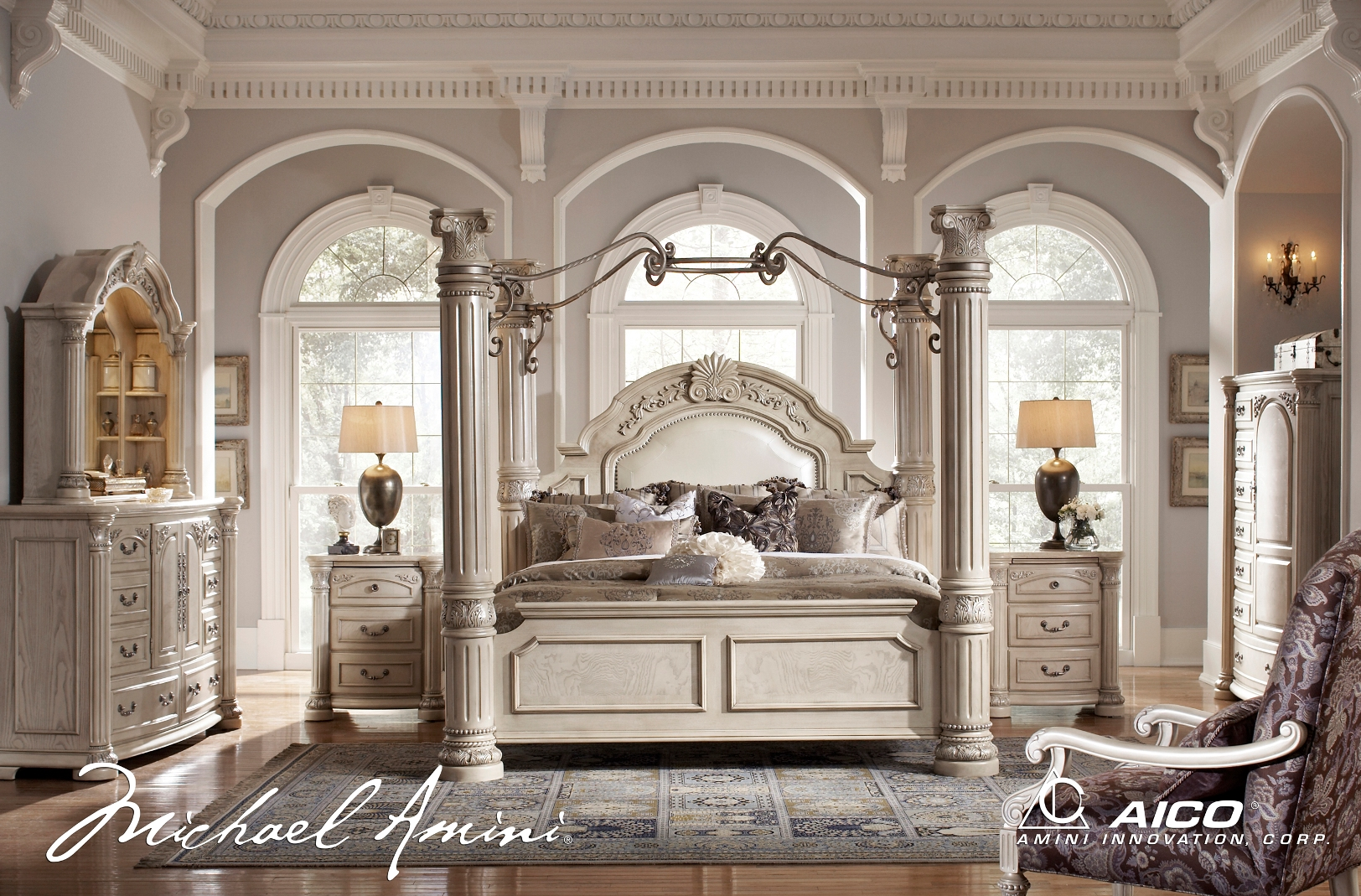 Furniture Of America Kania Luxury