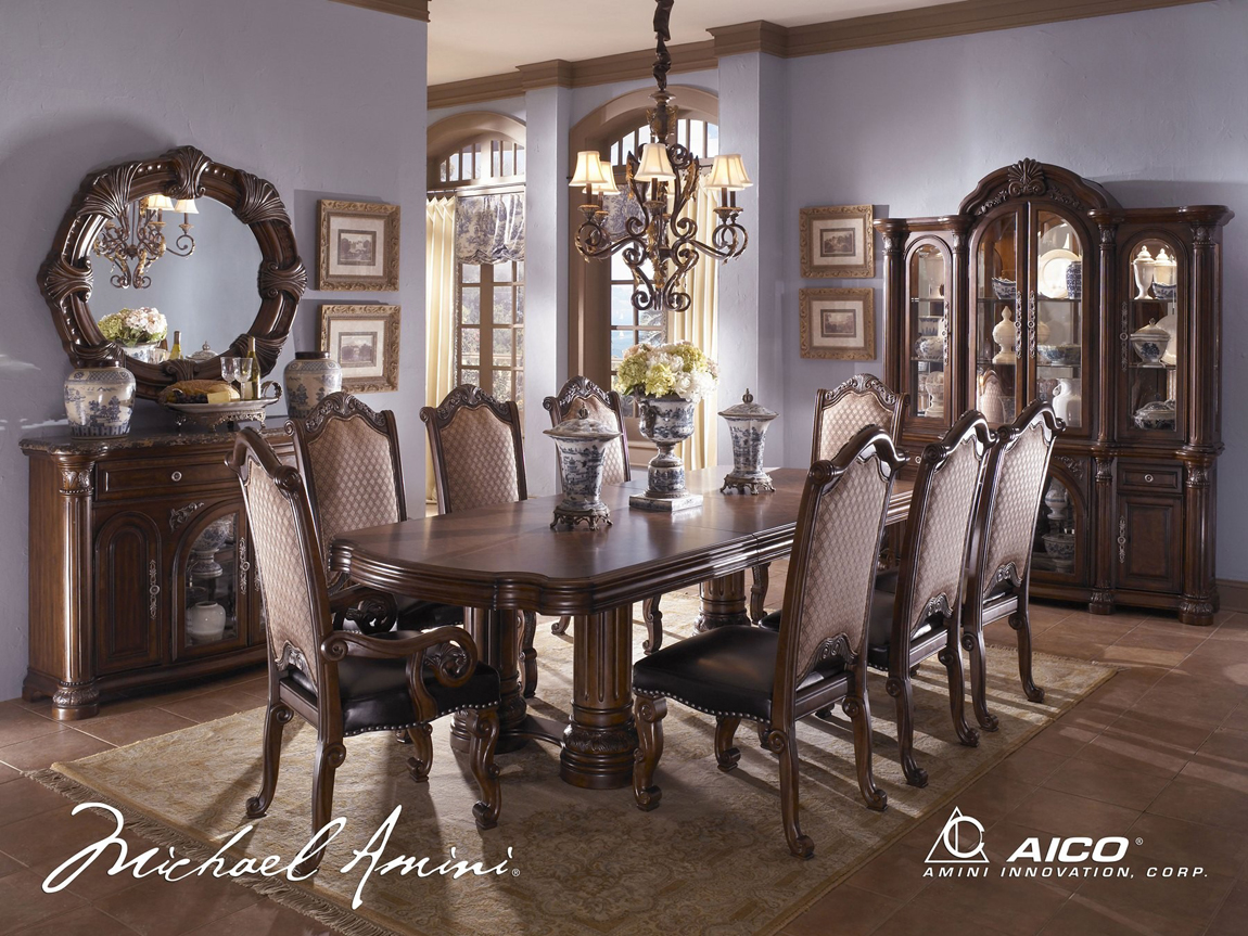 michael amini monte carlo ii traditional luxury dining