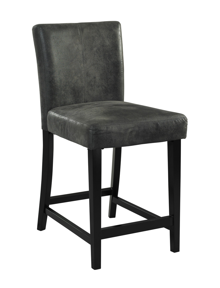 Morocco Charcoal Gray Counter Height Bar Stool