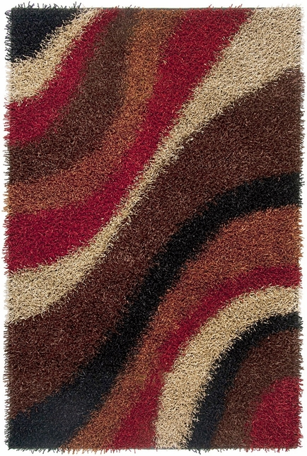 Rizzy Rugs Multi Shag Hand Tufted Area Rug Kempton KM2322