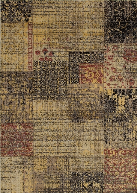Rizzy Rugs Multi Transitional Power Loomed Area Rug Bayside BS3947