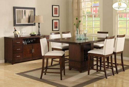 nathan counter height dining room set table chairs