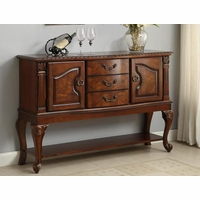 Neo Renaissance Formal Dining Room Traditional Sideboard Server