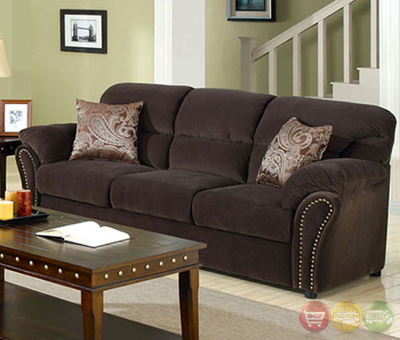 new sarum traditional chocolate living room set with pillows cm6019