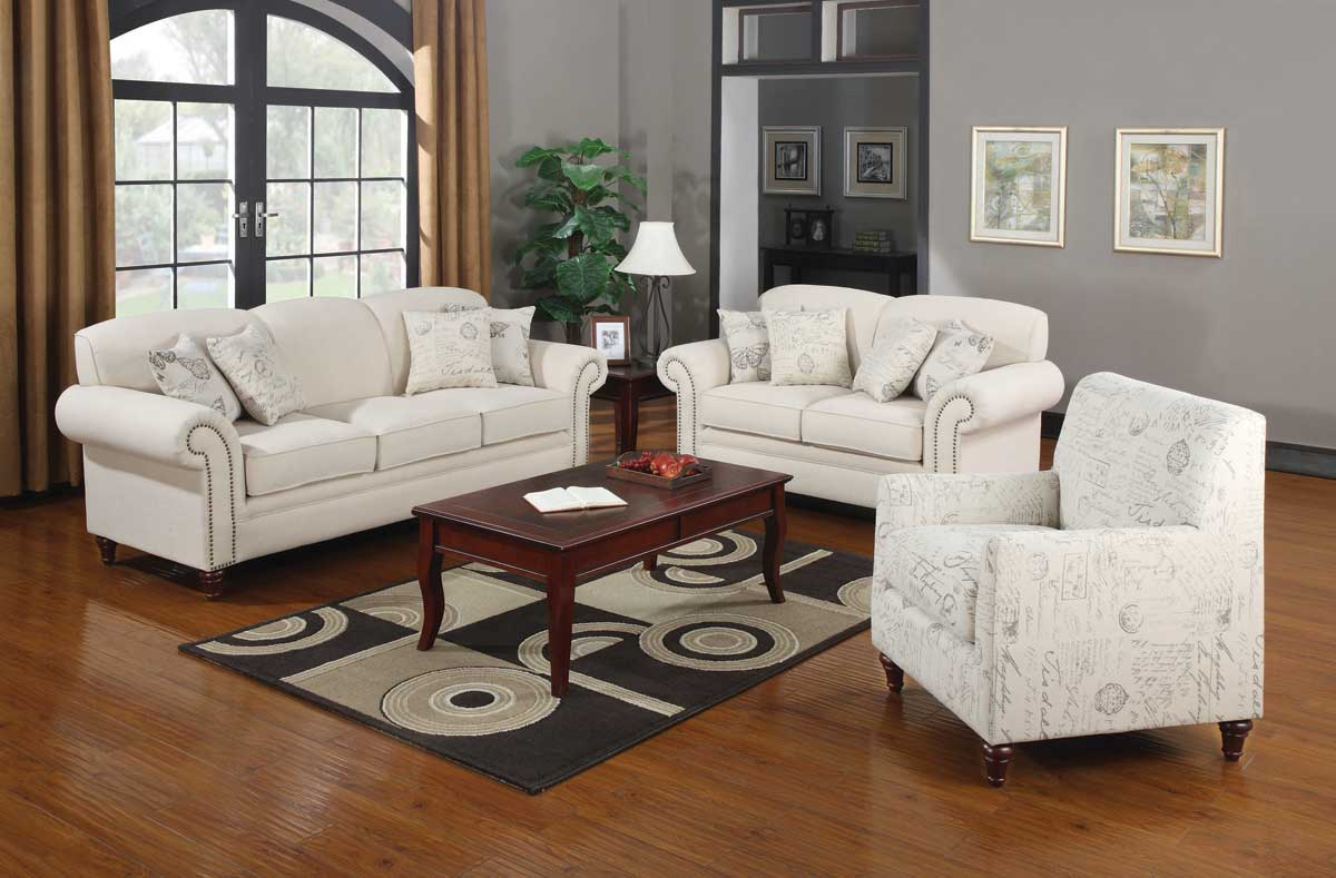 Off White Living Room Furniture norah shabby chic off white antique inspired living room sofa