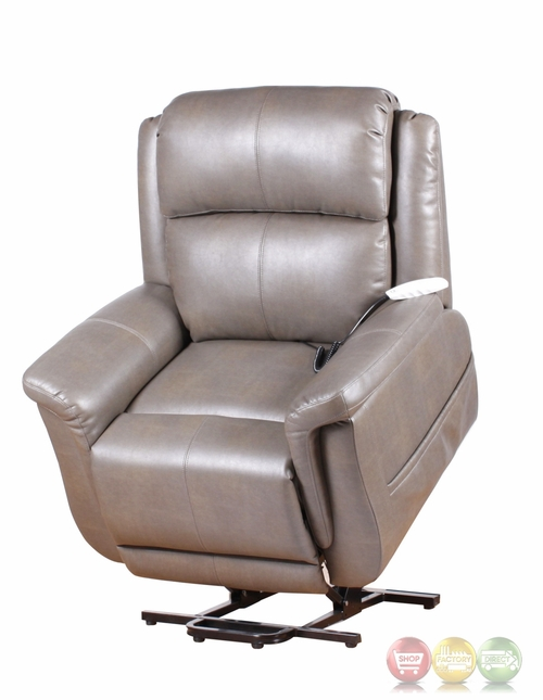 norwhich grey wall hugger reclining lift chair with usb outlet
