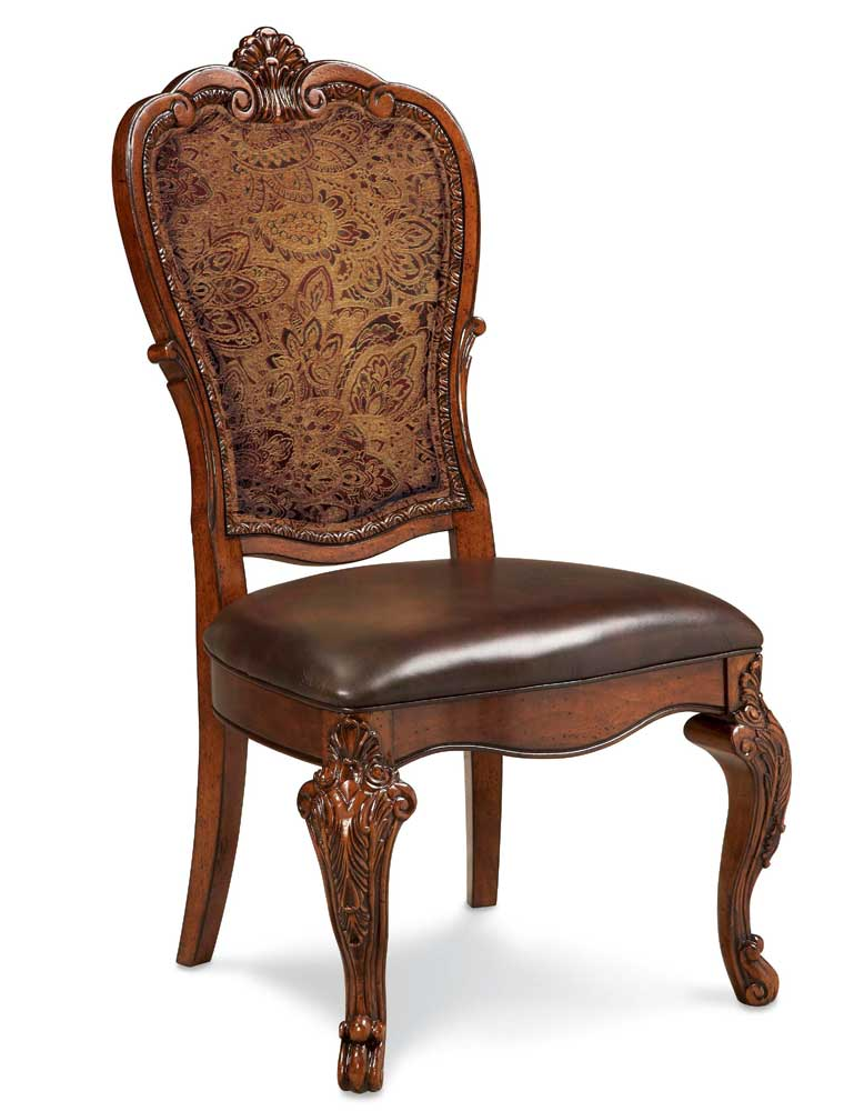 Chairs Dining Room: Old World Formal Dining Room Furniture Pedestal Table