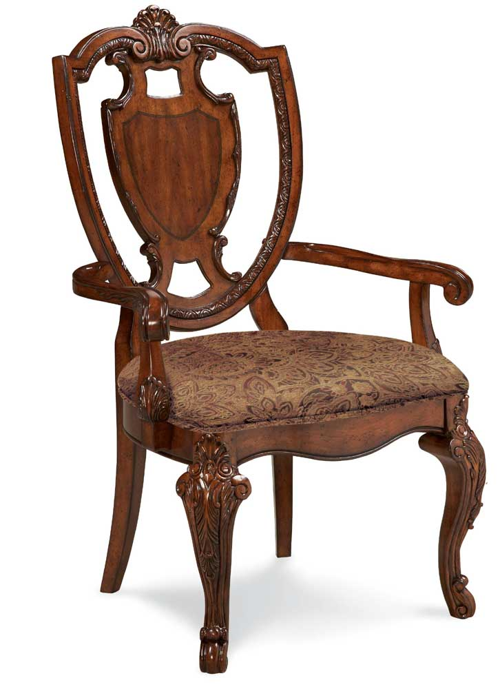 Old World Formal Dining Collection Shield Back Chairs A R T Free Shipping Sh