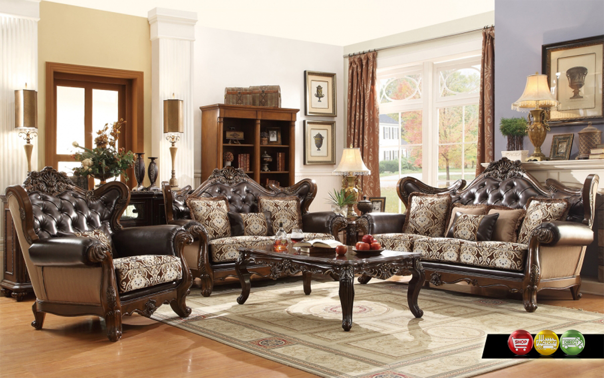 French provincial living room furniture sets