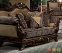 Ornate Traditional Style Living Room Furniture Sofa, Love Seat HD-23 (KD)