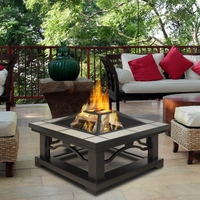Outdoor Fire Pits & Fire Features