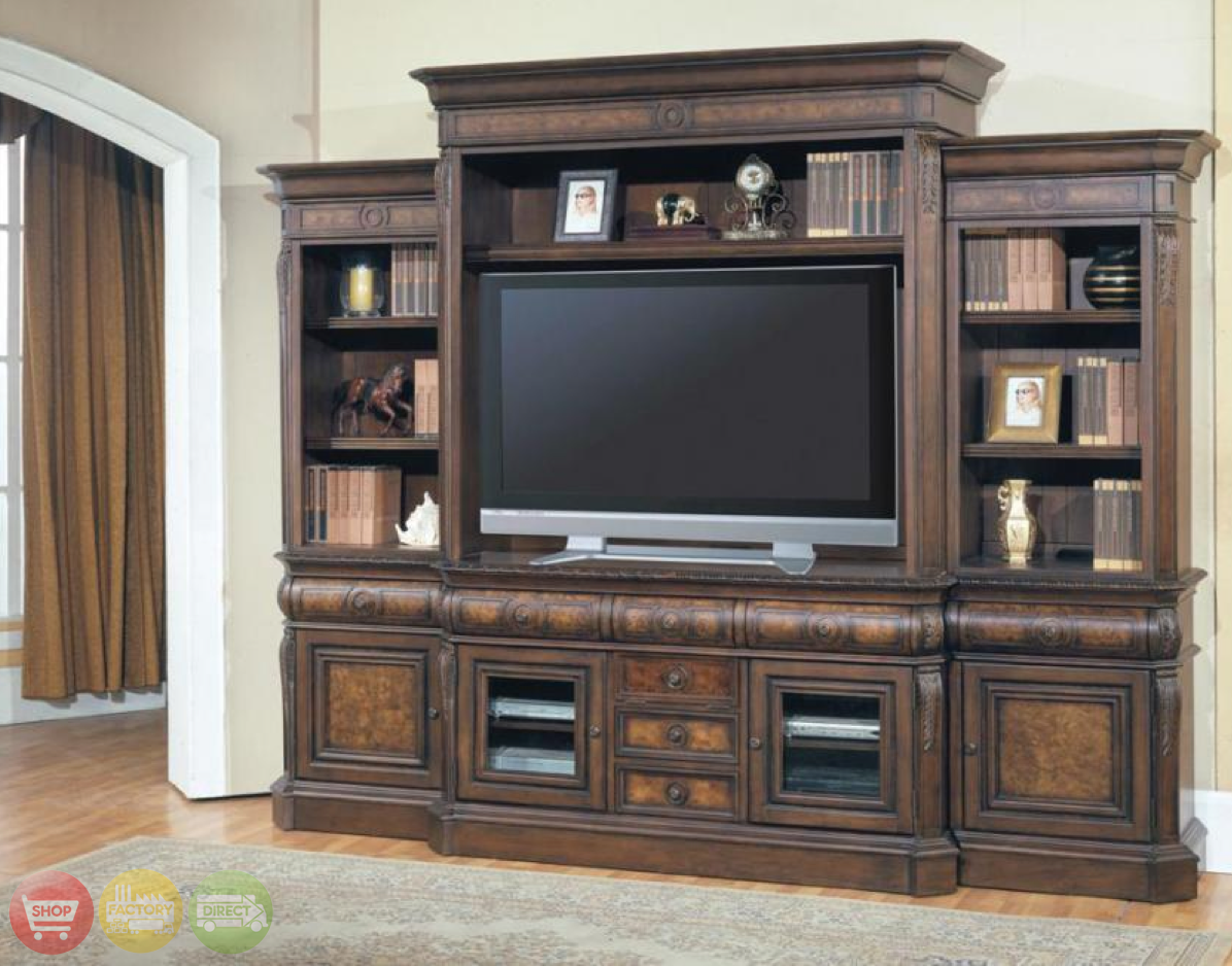 Wall Unit Entertainment Center With Fireplace Pictures to