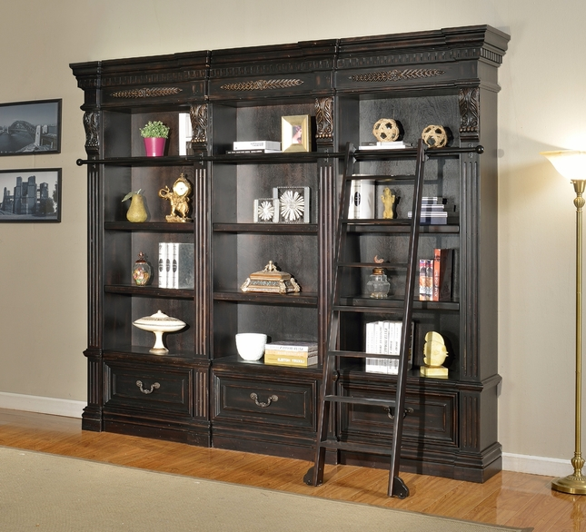 Parker House Grand Manor Palazzo 3 Piece Museum Bookcase GGRA-PACK-F