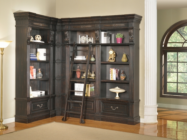 Parker House Grand Manor Palazzo Museum Bookcases GGRA-PACK-H