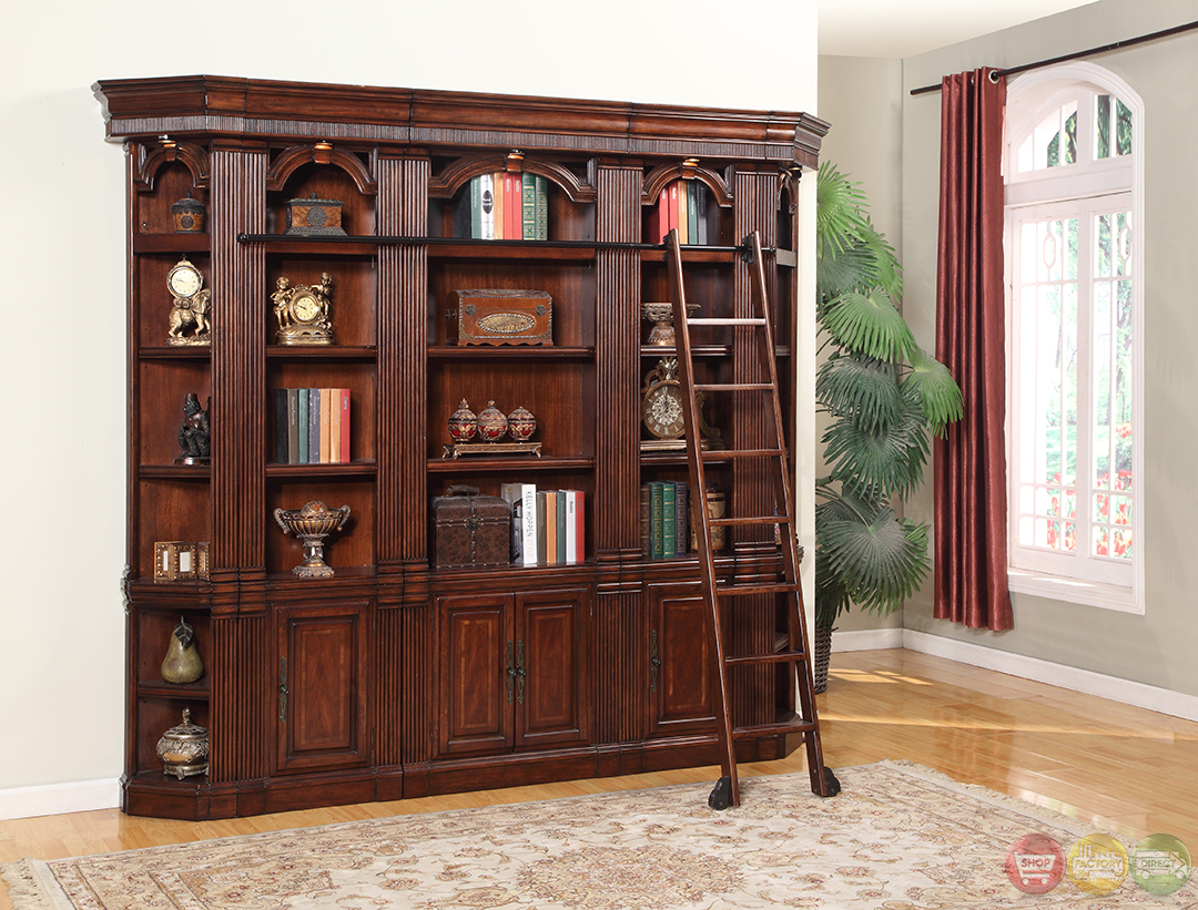 #936438 Parker House Welington Antique Library Bookcase Wall WEL Pack H with 1080x821 px of Best Book Case Wall 8211080 image @ avoidforclosure.info