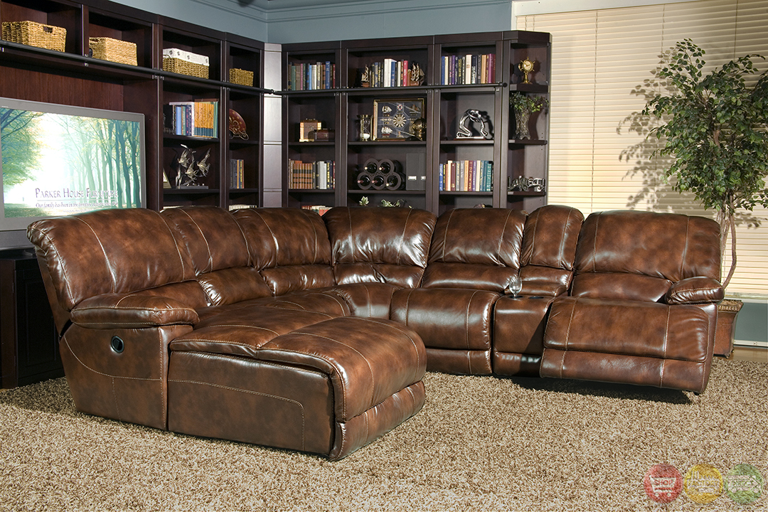 Parker Living Mars Distressed Brown Top Grain Leather