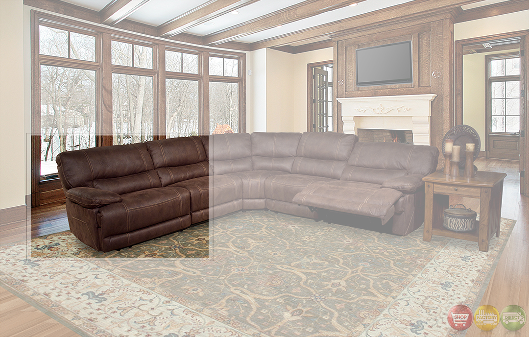 Parker Living Pegasus Brown Sectional Sofa Set Mpeg Packb Dk