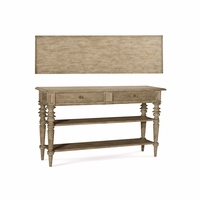 Pavilion Coastal Pine 2-Drawer Sideboard in Barley Finish