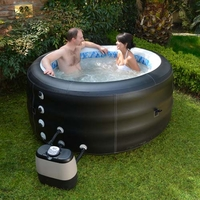 Pinnacle Spa Deluxe Inflatable Hydrotherapy Hot Tub