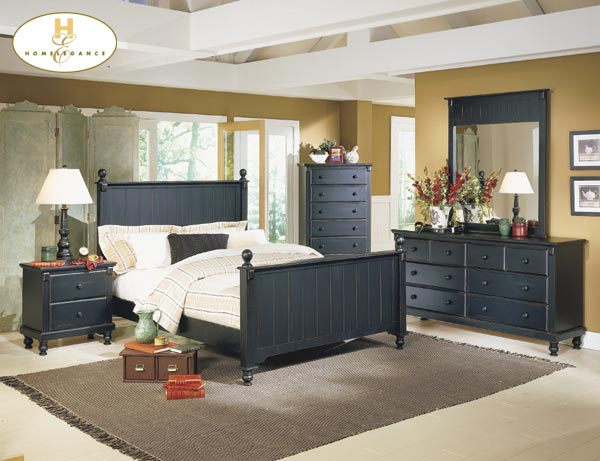 Pottery Distressed Black New England Style Bedroom Furniture Set Free. New England Bedroom Furniture