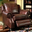 Princeton Genuine Leather Living Room Sofa & Loveseat Tri Tone Burgundy