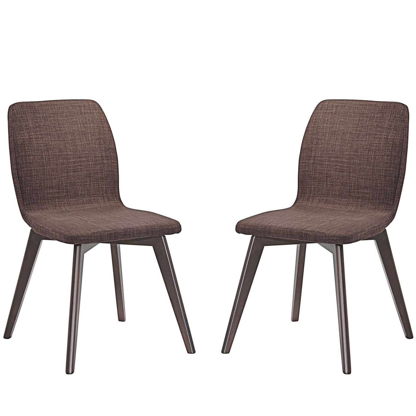 Wonderful image of Proclaim Contemporary Upholstered Dining Side Chair W/wood grained  with #6D5852 color and 1400x1400 pixels