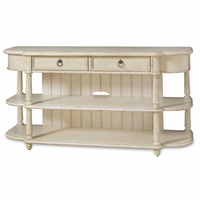 Provenance Country Cottage Style Entertainment Console Table