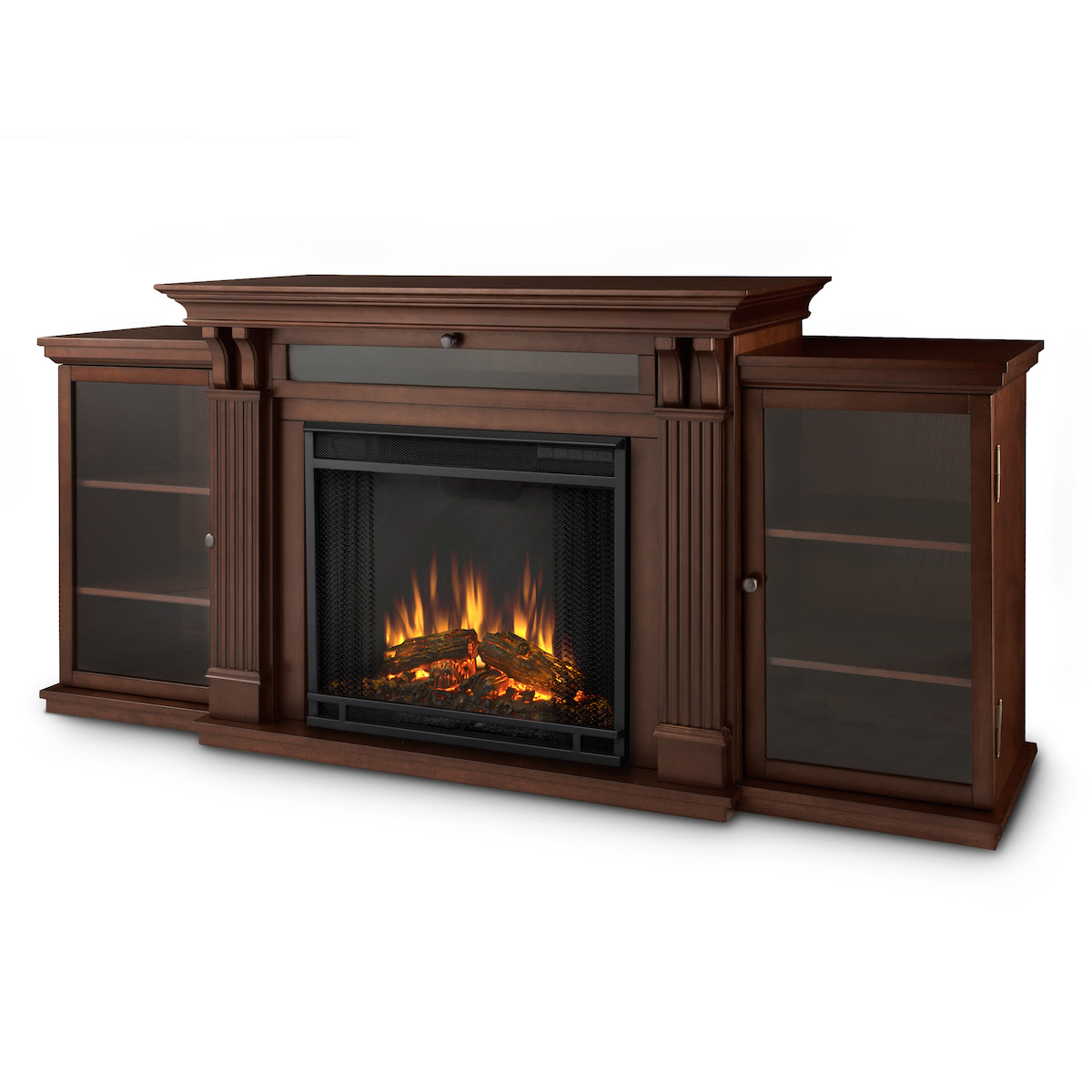 Real Flame Ashley Entertainment Center Electric Fireplace