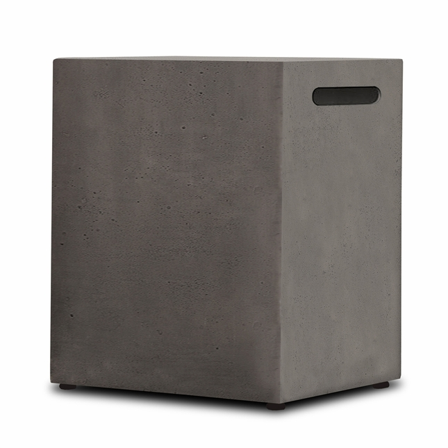 Real Flame Baltic 20lb Lp Tank Holder In Glacier Gray