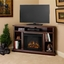 Real Flame Churchill Electric Fireplace in Dark Espresso