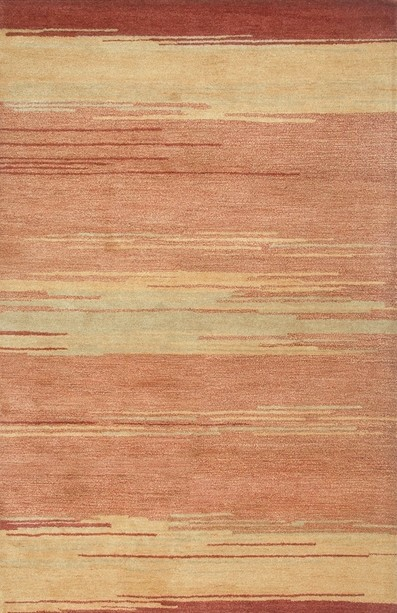 Rizzy Rugs Red Modern Hand Tufted Area Rug Mojave MV3163