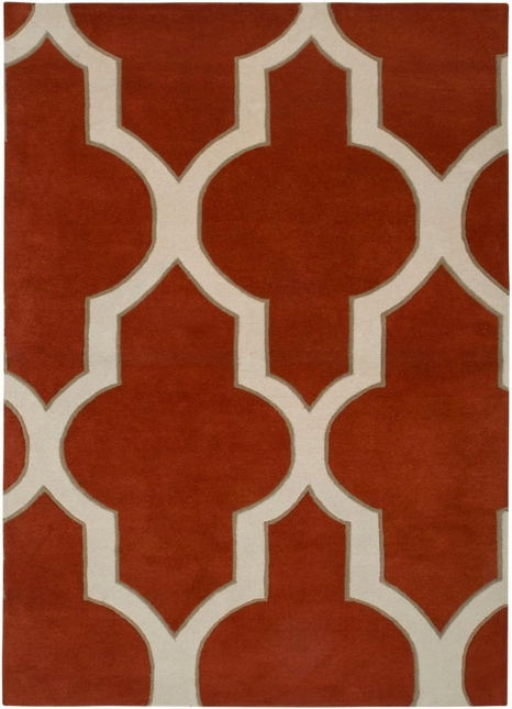 Rizzy Rugs Rust Transitional Hand Tufted Area Rug Volare VO2134
