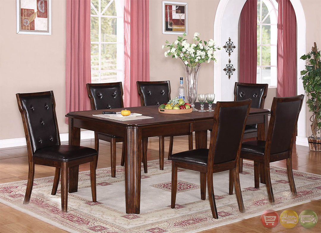 Sam Contemporary Medium Wood Casual Dining Set With Sideboard RPCMO42