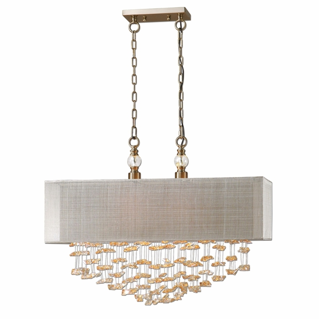 Santina Contemporary 2 Light Shade Pendant 22033