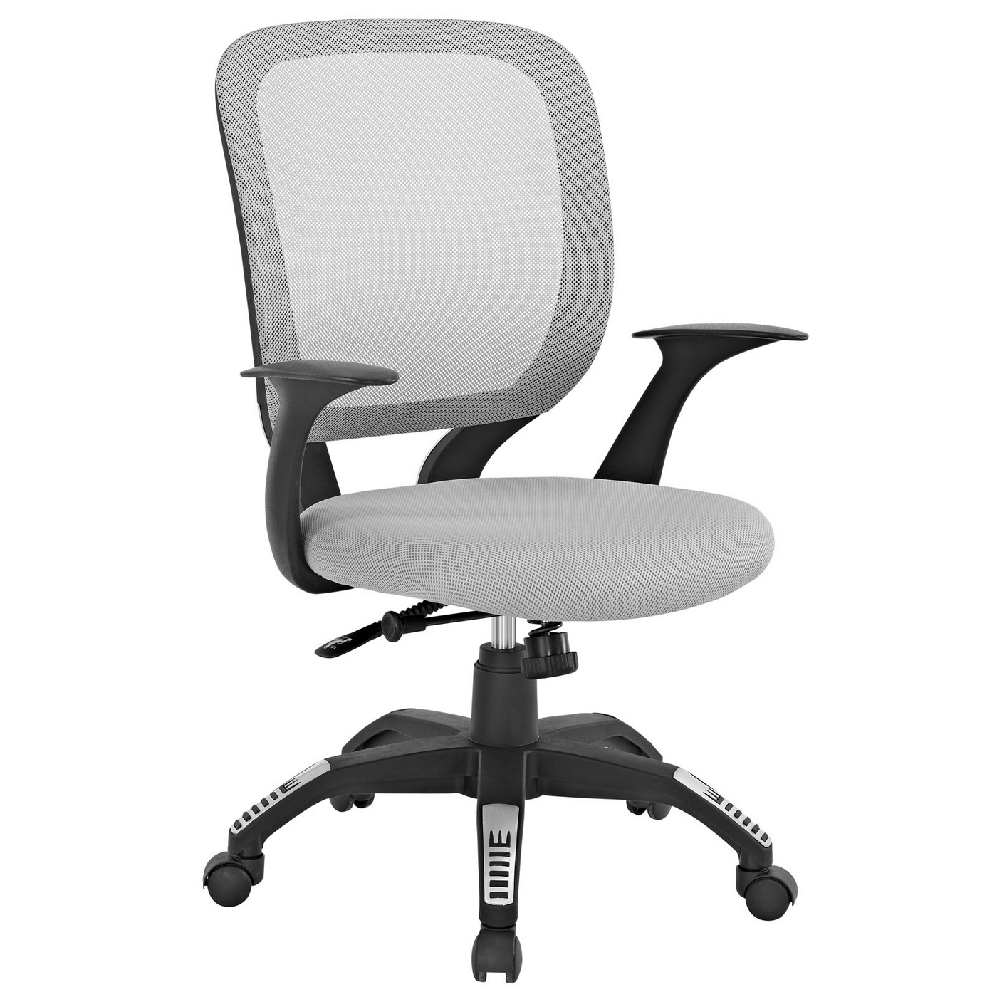 Scope Modern Mesh Back Office Chair W Adjustable Height And Tilt Gray