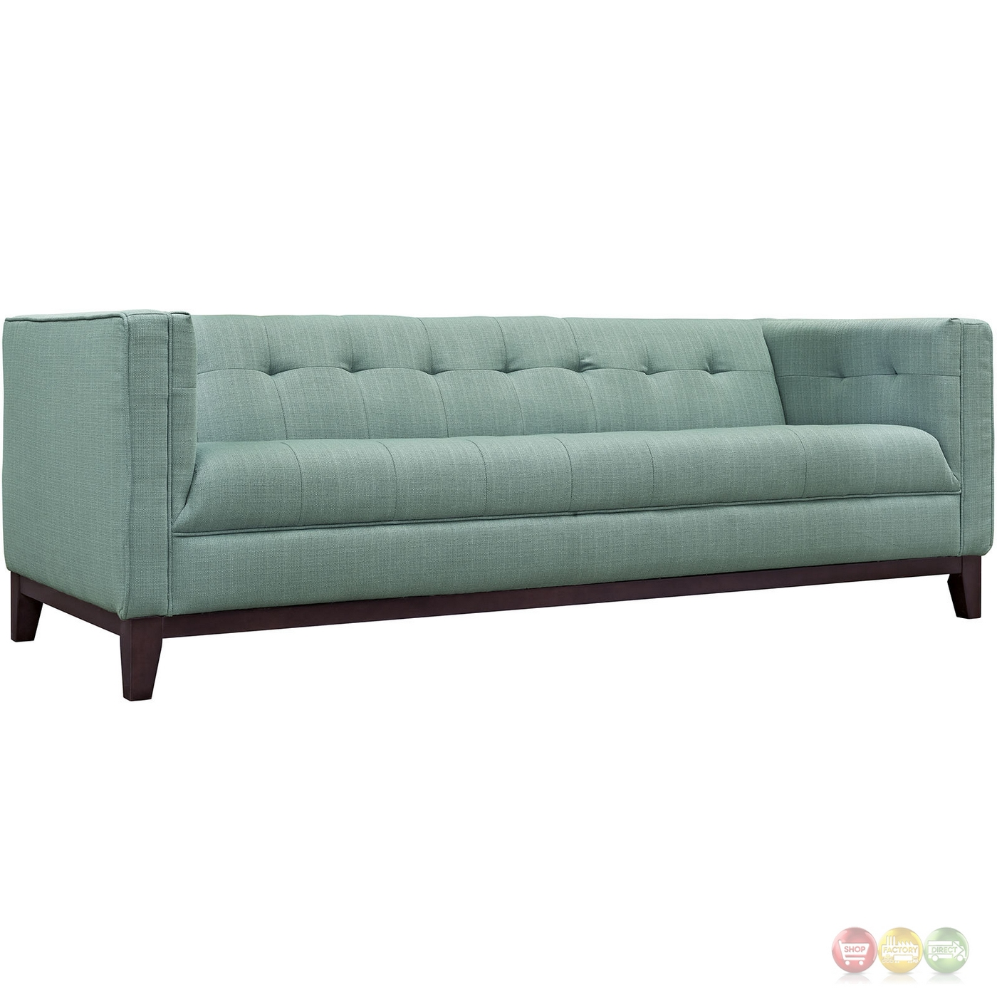 Serve Modern 2pc Upholstered Button tufted Sofa amp Armchair  : serve modern 2pc upholstered button tufted sofa armchair set laguna 9 from shopfactorydirect.com size 1400 x 1400 jpeg 414kB