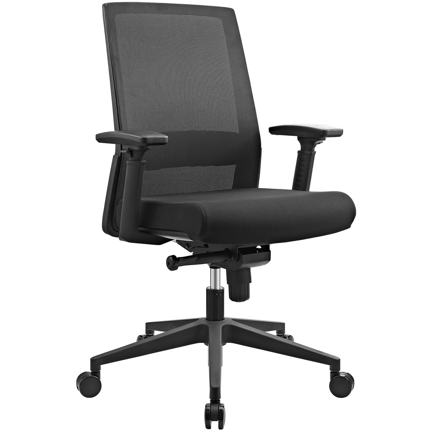 Shift Ergonomic Mesh Back Office Chair With Lumbar Support Black
