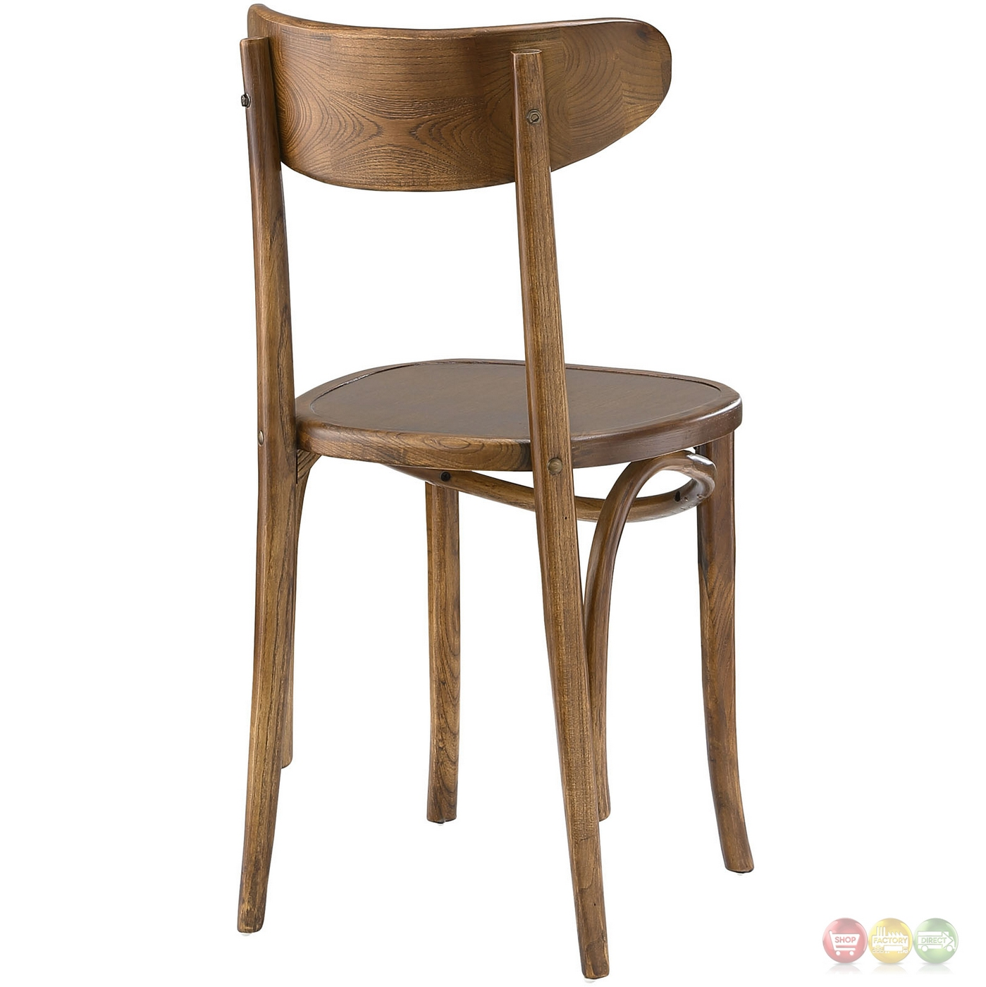 Skate Contemporary Solid Wood Dining Side Chair With