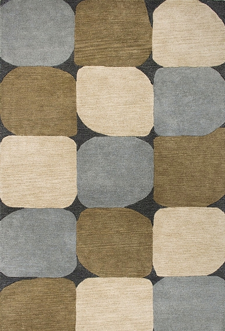 Rizzy Rugs Slate Blue Modern Hand Tufted Area Rug Colours CL1675