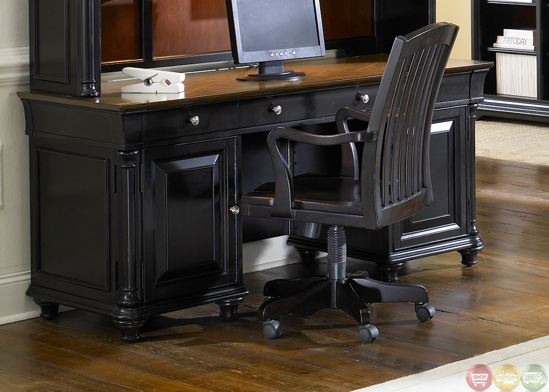 Office Furniture: St Ives Traditional Executive Home Office Furniture Desk Set